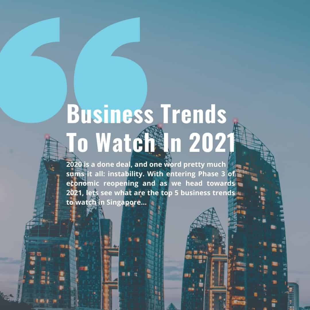 5 business trends to watch in 2021